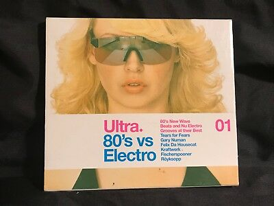 Ultra 80's Vs. Electro, Vol. 1 (Various Artists) 2 DISC CD Set New Is UnSealed