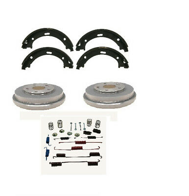 Brake Shoe Drum plus Hardware Rear Kit fits 2006-2018 Toyota Yaris