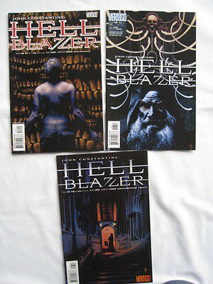 """HELLBLAZER 197,198,199 """"STATIONS of"""" : COMPLETE 3 PART CONSTANTINE STORY.DC.2004"""