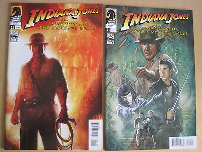 INDIANA JONES & the KINGDOM of the CRYSTAL SKULL : COMPLETE 2 ISSUE MOVIE SERIES