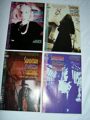 "Sandman Mystery Theatre 1,2,3,4 :""tarantula"",complete 4 Issue Story Arc. Dc.1993"