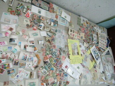Nystamps Worldwide large mint old stamp & souvenir sheet collection
