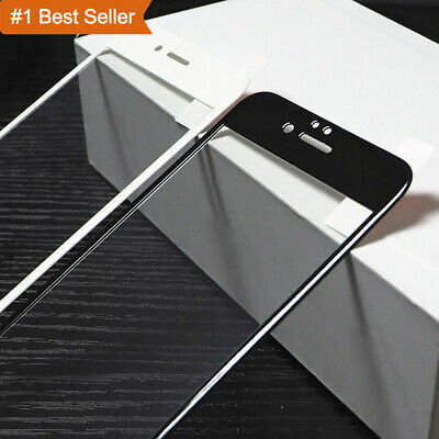 For iPhone 6s 7 8 Plus 3D Curved Carbon Fiber Tempered Glass Screen Protector
