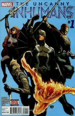 Uncanny Inhumans, The (2nd Series) #1 VF/NM; Marvel | save on shipping - details