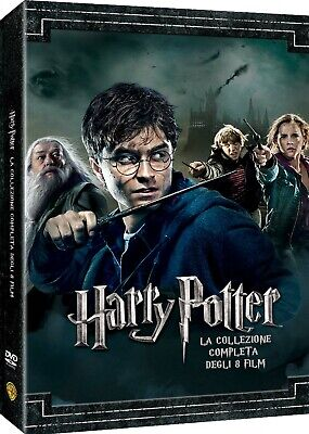 2050107 207228 Dvd Harry Potter Collection (Standard Edition) (8 Dvd)