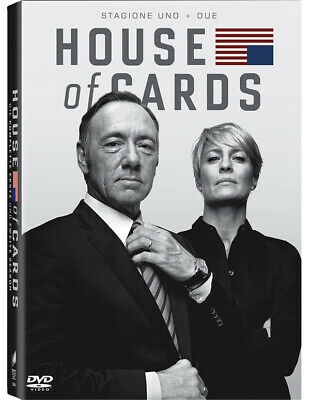 Dvd House Of Cards - Stagione 01-02 (8 Dvd)
