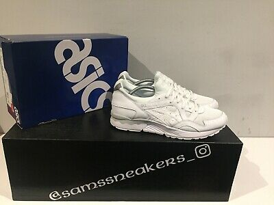 "ASICS GEL LYTE V CORE PACK ""ALL WHITE"" MENS TRAINERS UK Size 8 Uk- New In Box"