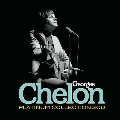 1257118 258709 Audio Cd Georges Chelon - The Platinum Collection (3 Cd)
