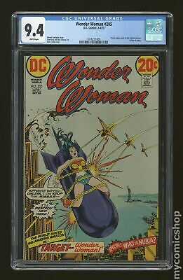 Wonder Woman (1st Series DC) #205 1973 CGC 9.4 1616231005