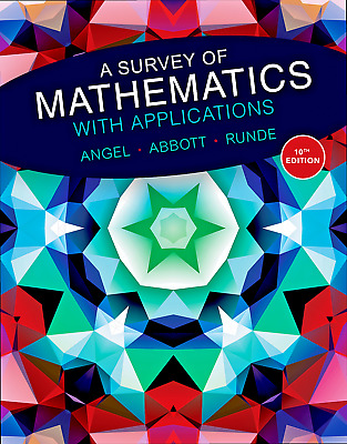 a survey of mathematics with applications 10th edition PDF Instant Email Delivry