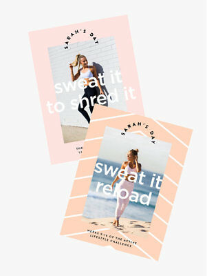 NEW Sarah's Day °Sweat It Reload° AND °Sweat it to Shred it° Fitness BUNDLE