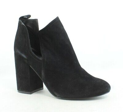 d0c37430aa STEVE MADDEN YOUNG Black Open Toe Booties Size 8.5 -  29.00