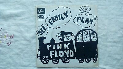 """Disque vinyle pink floyd cf 113 luxe """"see emily play """""""