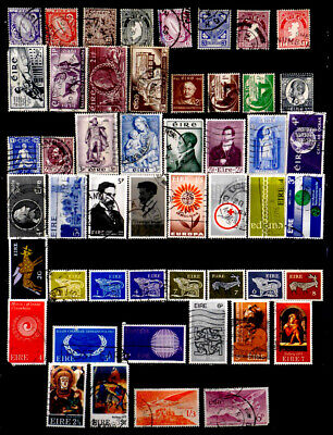 Ireland: Stamp Collection 50 Different
