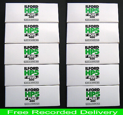 Ilford  Hp5+   120  B & W Film   Recorded Delivery , Trusted Seller