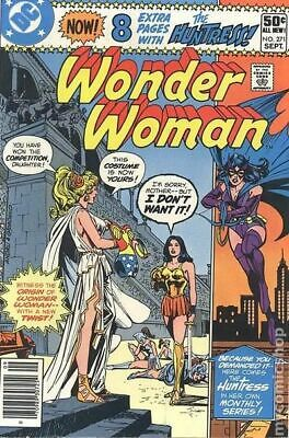 Wonder Woman (1st Series DC) #271 1980 VG Stock Image Low Grade