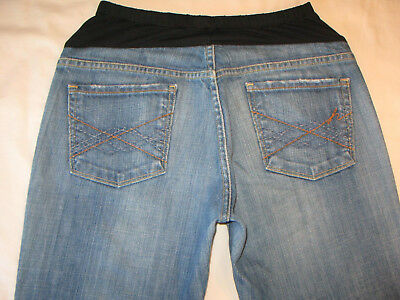 Citizens of Humanity Maternity Bootcut Jeans Sz 29 Distressed Naomi w Stretch