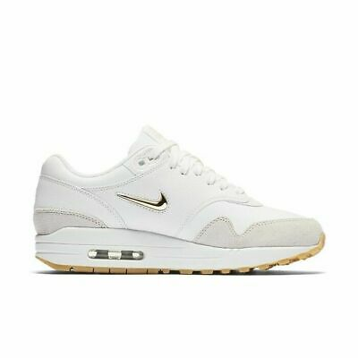 NIKE AIR MAX 1 Premium SC Jewel Summit White Gold Light Bone AA0512 100