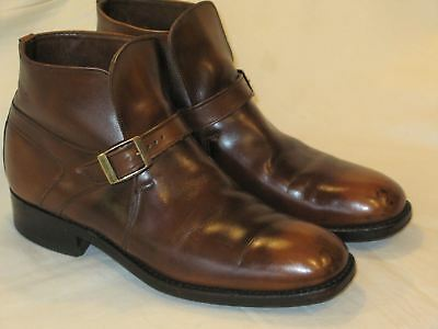 Vintage Men's Wright Breather Brown Ankle Beatle Boots Sz 9 B