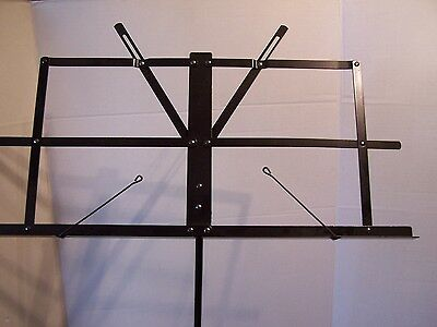 Adjustable Sheet Music Stand Holder Tripod Folding Foldable with Carry Case Bag
