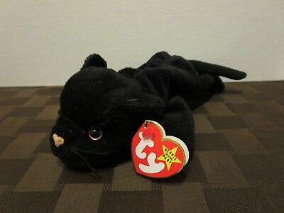 TY BEANIE BABIES Velvet the Black Panther cat 1145367f4bbd
