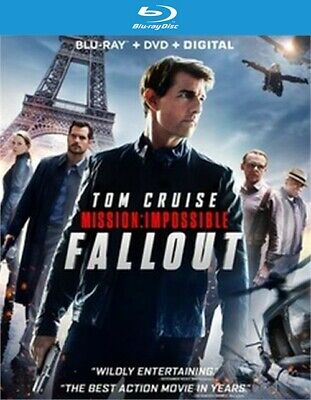 Mission Impossible: Fallout (Blu-ray Disc ONLY, 2018)