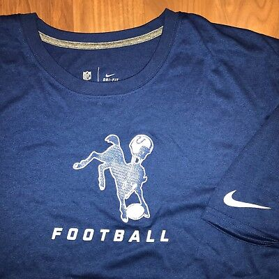 Nike BALTIMORE COLTS Shirt NFL ONFIELD Jersey t-shirt Mens 4XL Indianapolis  tee 084bd7c2a