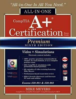[PDF+MP4] CompTIA A+ Certification All-in-One Exam Guide, Premium Ninth Edition