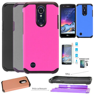 Phone Case For LG Aristo 3 / LG Tribute Empire Case ShockProof Hybrid Cover
