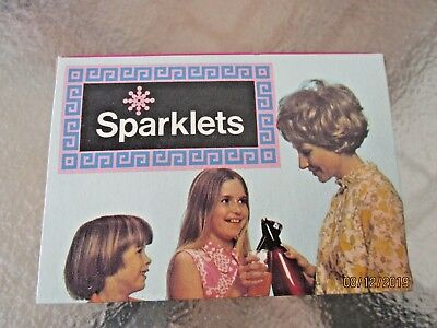 RETRO 1970's SODA SYPHON SPARKLETS BULBS BOXED UNOPENED - NEW OLD STOCK