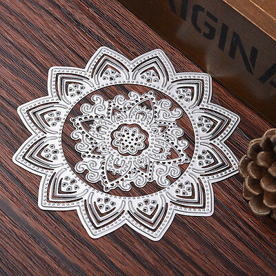 3pcs/set Sunflower Dies Metal Cutting Stencil For Scrapbooking Paper Card