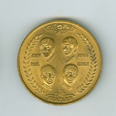 1964 Visit of the Four Beatles to the United States Medal