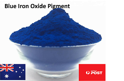 Aussie Seller 100 Grams Blue Iron Oxide Pigment Ultra Fine powder Fast Dispatch