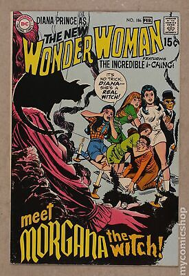 Wonder Woman (1st Series DC) #186 1970 VF 8.0