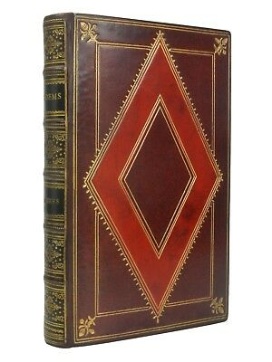 POEMS BY ROBERT BURNS | Circa 1910 | Fine Riviere Leather Binding
