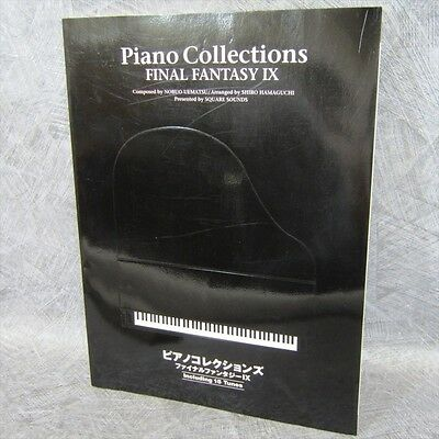 FINAL FANTASY IX 9 PIANO COLLECTIONS Score Book Japan