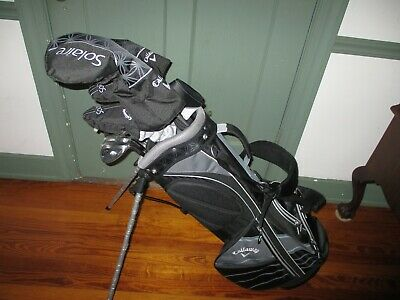 New Callaway Solaire 18 Complete Ladies Golf Package Set 11 Piece