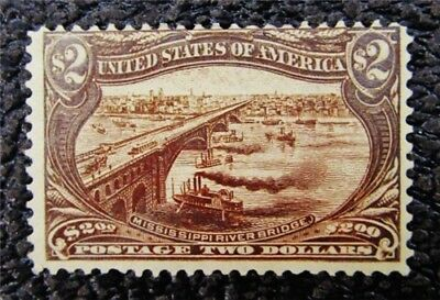 nystamps US Stamp # 293 Mint OG H $1900