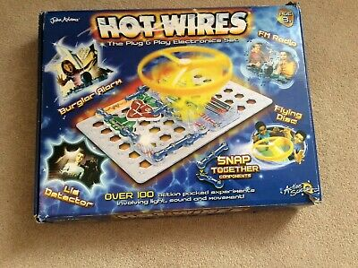Hot Wires Plug&Play Electronics Set - Complete set and full instructions.