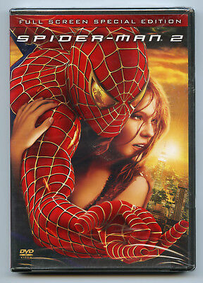 Spider-Man 2 Full Screen Special Edition DVD 2-Disc Set Tobey Maguire