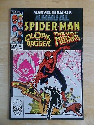 Marvel Team-Up Annual #6 - Cloak & Dagger, NEW MUTANTS - High Grade VF/NM to NM-