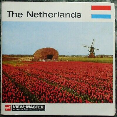 3 View-Master 3D Bildscheiben - Nations Of The World | The Netherlands + Booklet