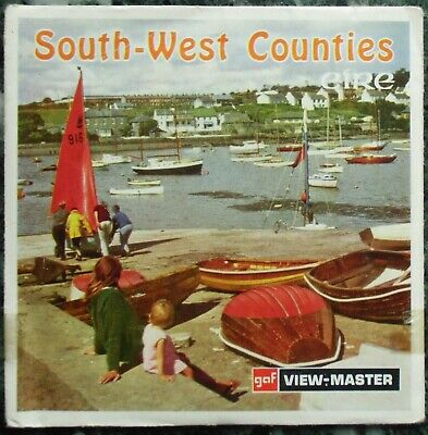 3 View-Master 3D Bildscheiben - South-West Counties | Eire