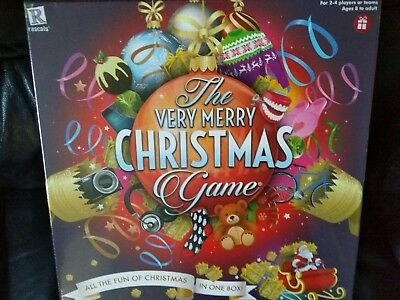 The Very Merry Christmas Game - New/sealed/perfect - Free P&p!!