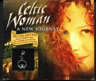 CELTIC WOMAN - DELUXE EDITION (2006 CD) CLADDAGH CHARM (sealed)