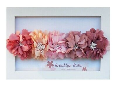 Flower Headband, Babies and Newborn Flower Headband, Wedding Wreath for Babies