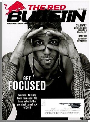 d0f5687cfa96 The Red Bulletin - 2016, December - Olympic Champion Anthony Ervin's  Comeback
