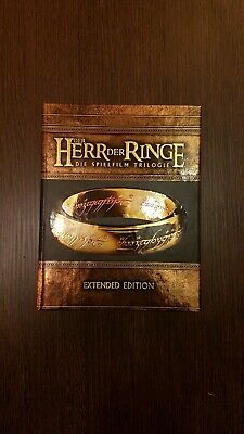 Der Herr Der Ringe - Extended Edition Box 6 Blu-ray, 9 DVDs, 15 Discs, top