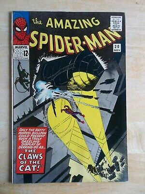 Amazing Spider-Man #30 -The Claws of the Cat -HIGHER GRADE VF- (7.5) to VF (8.0)