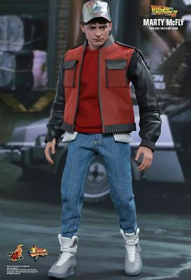 BACK TO THE FUTURE 2 - Marty McFly 1/6 Scale Action Figure MMS379 (Hot Toys)